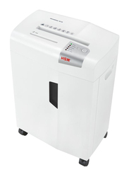 HSM X13 Cross Cut Shredder, 4 x 37mm, 1057, White