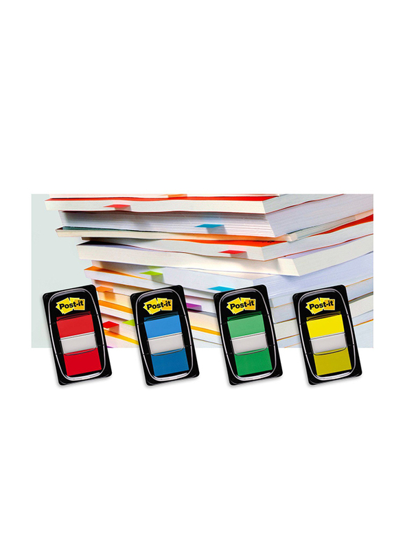 3M Post-It 680-1 Tape Flags, 25.4 x 43.18mm, 50 Sheets, Red