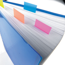 3M Post-It 680-2 Tape Flags, 25.4 x 43.18mm, 50 Sheets, Blue