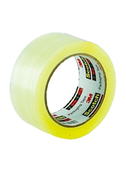 3M Scotch 301-C Packaging Tape, 50mm x 100Yards, Clear
