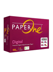 PaperOne Digital P1D 100GSM Printing/Photo Copy Paper, 500 Pages, A4 Size, White