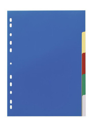 Durable 6730 Index with 5 Colored Tabs, Blue