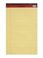 Sinar PD02077 Legal Pad, A4 Size, 50 Pieces, Yellow