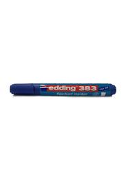 Edding E-383 Flipchart Marker with 1-5mm Chisel Tip, Blue