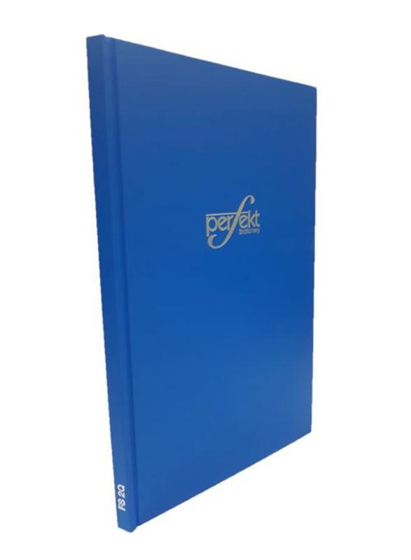 Perfekt Register Ruled Note Book/Manuscript Hard Cover, Fullscape Size 2 Quire, Blue
