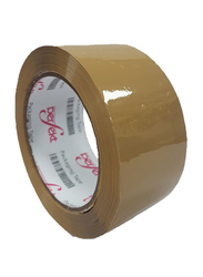 Perfekt 100YDS Packing Tape, Brown/Tan