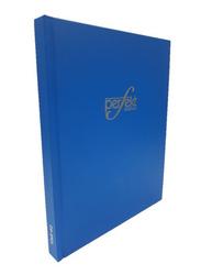 Perfekt Register Ruled Note Book/Manuscript Hard Cover, 10x8, Size 4 Quire, Blue
