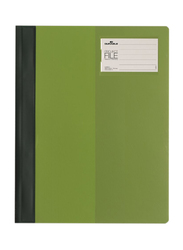 Durable 2745-05 Clear View Project File, A4 Size, Green