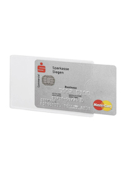 Durable 8903-19 RFID Secure Credit Card Sleeve, 3 Pieces, Clear