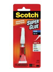 3M Scotch AD117 Super Glue Liquid, 20gm, White