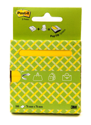 3M R330-Otg Z Notes On The Go Pop Up Sticky Notes, 76 x 76mm, 100 Cards, Multicolor