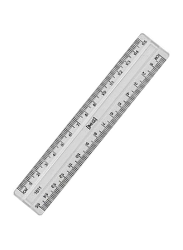 Omega Ruler, 150mm, Clear