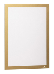 Durable 4872-30 Magnetic Dura Frame, A4 Size, Gold