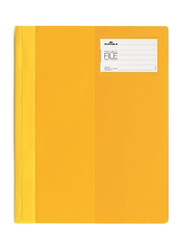 Durable 2745-04 Clear View Project File, A4 Size, Yellow