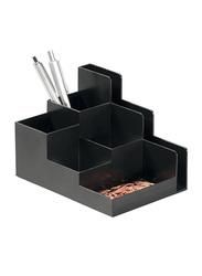 Durable 1701588058 Desk Organizer, Black