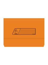Premier 220GSM Full Scape Size Document Wallet, Orange