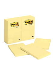 3M Post-it 659 Sticky Notes, 98.4 x 149mm, 100 Sheets, Yellow
