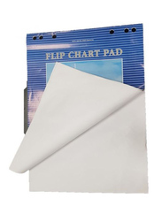 Perfekt Flip Chart Pad Set, 80g, 25-Pieces, White