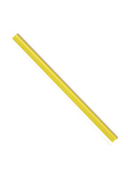 Durable 2901-04 Spine Bar, 100 Pieces, 6mm, A4 Size, Yellow
