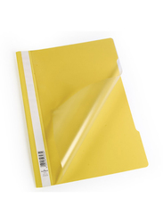 Durable 2715-04 Clear View File, A4 Size, Yellow