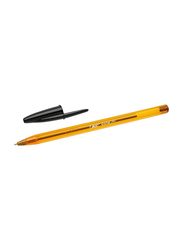 BIC Cristal Original Fine Point 0.8mm Ball Pen Set, Black