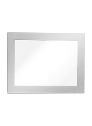 Durable 487101 Magnetic Dura Frame, A6 Size, Silver