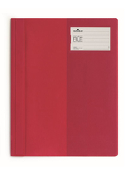 Durable 2745-03 Clear View Project File, A4 Size, Red