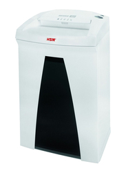 HSM B22 Cross Cut Shredder, 1.9 x 15mm, 1832, White