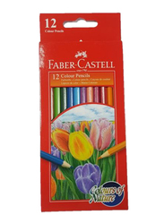 Faber-Castell FCI114416 Colors Of Nature Pencil Assorted, 12 Pieces, Multicolor