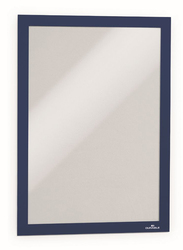 Durable 4872-07 Magnetic Dura Frame, A4 Size, Dark Blue