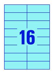 Avery 3453 Zweckform Labels, 16 lbls, Blue