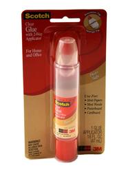 3M Scotch 6050 Clear Glue with 2Way Applicator, 47ml, Clear