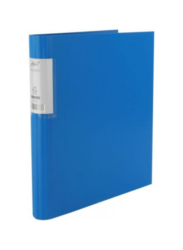 Elfen Economy 4202 Polypropylene Ring Binder, A4 Size, Blue