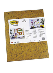 3M Post-It 558 Memo Board 17.5 x 23mm, Brown
