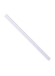 Durable 2912-01 A4 Spine Bars, 25 Pieces, 12mm, Transparent