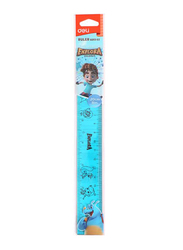 Deli EG01302 Explora Ruler, 200mm, Blue/Pink
