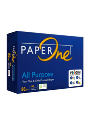 PaperOne All Purpose 80GSM Printing/Photo Copy Paper, 500 Pages, A4 Size, White