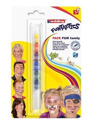 Edding E-47f-1-1 Funstastics Face Fun Paint Stick Blister, Multicolor