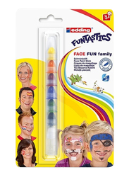 Edding E-47f-1-1 Funstastics Face Fun Paint Stick Blister, Multicolor