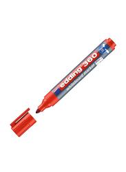 Edding E-360 White Board Marker with Bullet Nib, Red