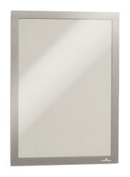 Durable 4872-23 Magnetic Dura Frame, A4 Size, Silver