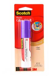 3M Scotch 6115 Purple Glue Stick, 52 oz, Purple