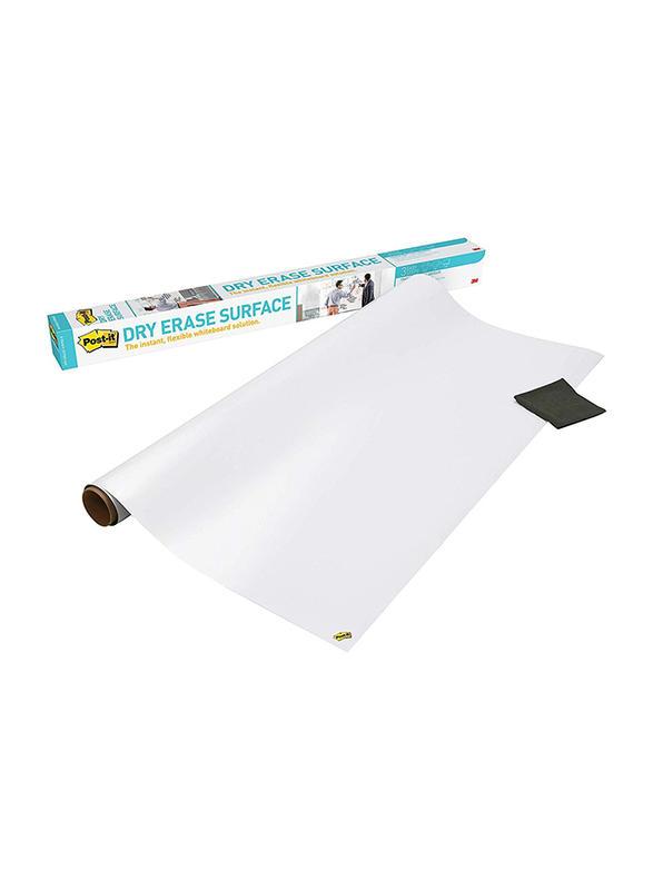 3M Post-It DEF6X4 Dry Erase Surface, 180 x 120mm, White