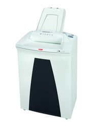 HSM AF500 Cross Cut Shredder, 4.5 x 30mm, 1203, White