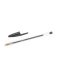 BIC Cristal Original Medium Point 1.0mm Ball Pen, Black