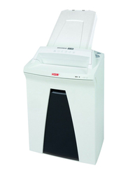 HSM AF300 Cross Cut Shredder, 4.5 x 30mm, 2093, White