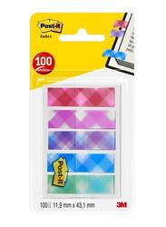 3M Post-It 684-Pld5-Eu Index In OTG Dispenser, 11.9 x 43.2mm, 5 x 20 Sheets, Multicolor