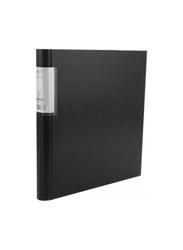 Elfen Economy 4202 Polypropylene Ring Binder, A4 Size, Black
