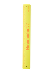 Deli E6206 Neon Color Cartoon Ruler, 180mm, Yellow