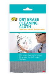 3M Post-It Dry Erase Cleaning Cloth, Grey